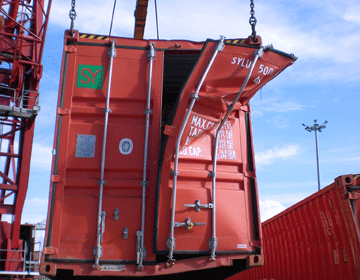 Damaged Container Inspection